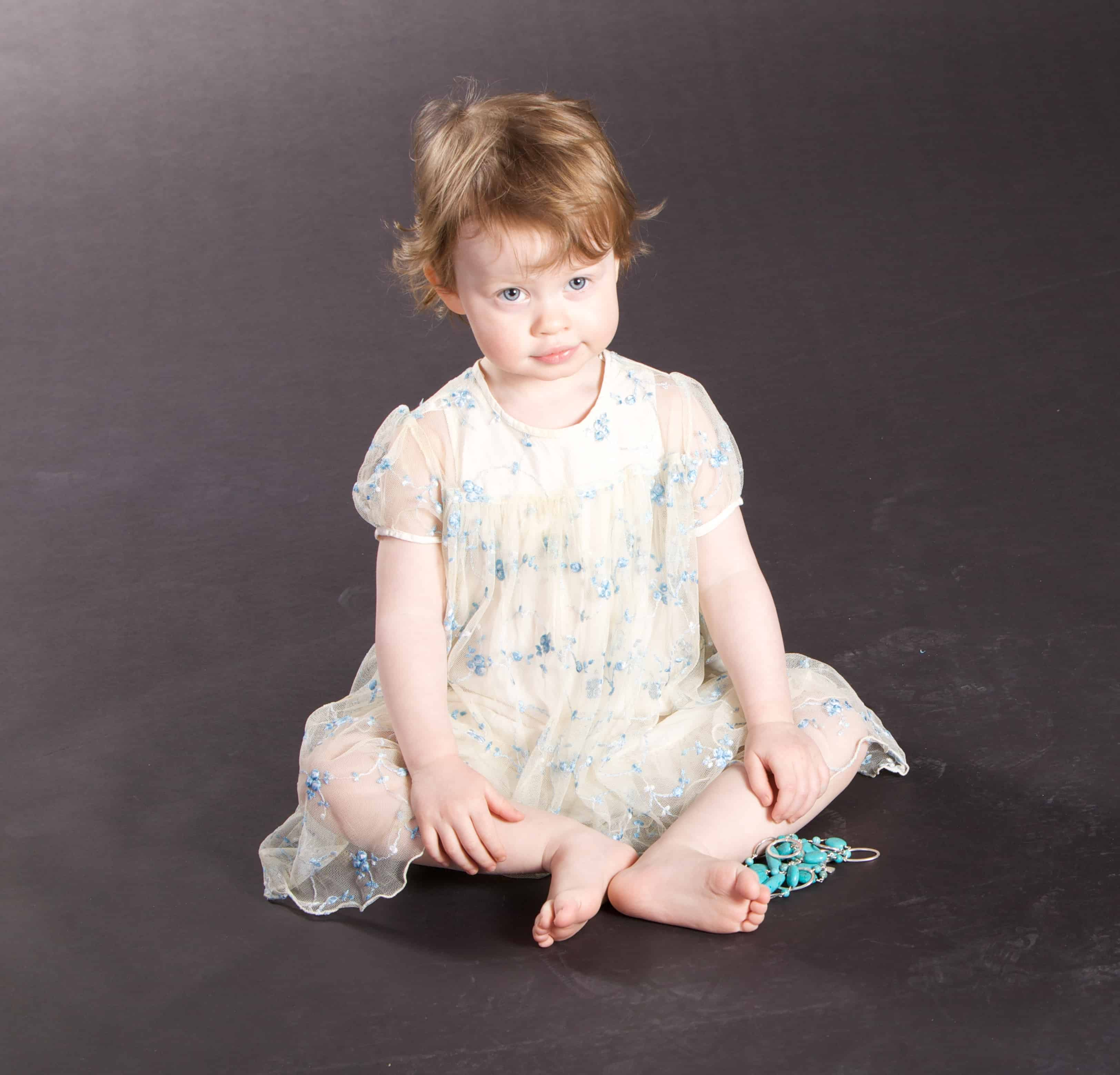 Tips on taking portraits of young children