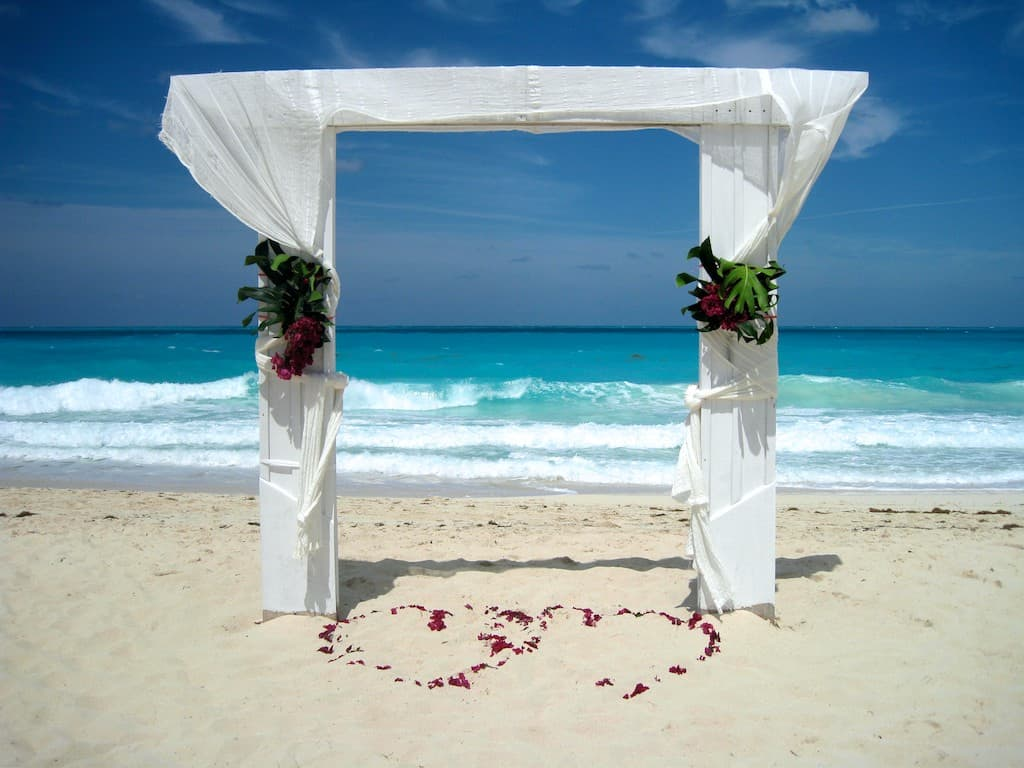Getting married here?