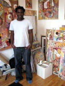 Cuban born artist, Alexander Poll