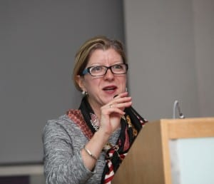 Marie-Josée Gariépy, President of the Montreal Children's Foundation