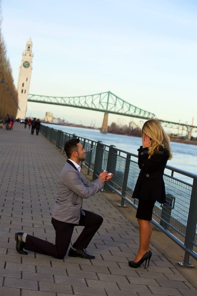 The Paparazzi Wedding Proposal